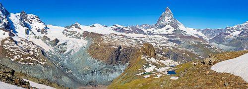 Panorama van de Alpen van