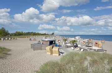 Strand in Heiligenhafen,Ostsee,Deutschand von Peter Eckert