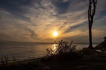 Sonnenuntergang an der Ostseeküste bei Nienhagen von Rico Ködder