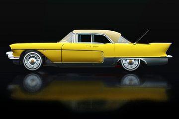 Cadillac Eldorado Brougham gebouwd in 1957 Zijaanzicht van Jan Keteleer