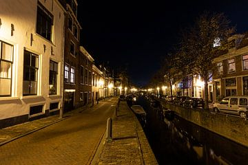 Straat in de nacht