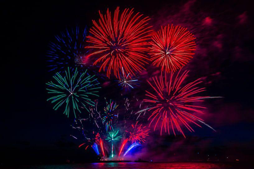 Vuurwerk4 van Fleksheks Fotografie