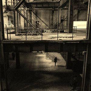 Een oude fabriek