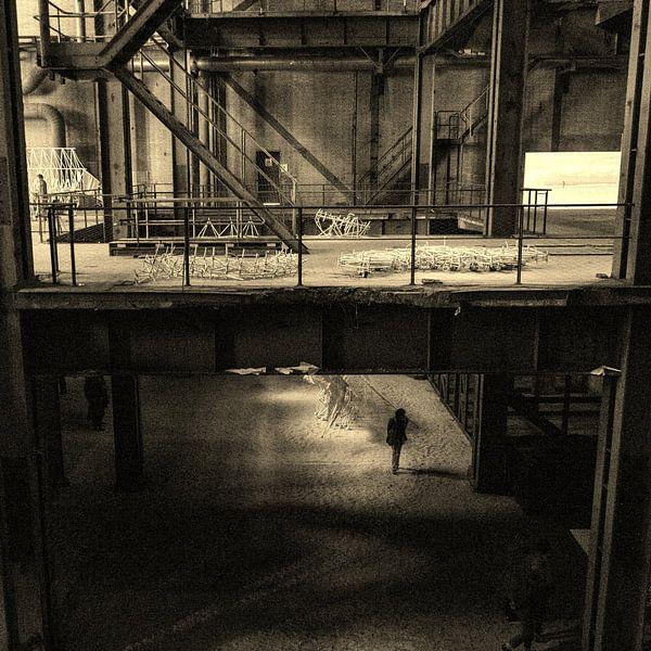 Een oude fabriek van Marian Sintemaartensdijk