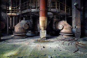 aufgegebene Fabrik von Kristof Ven