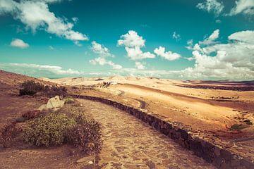 Kein Heu Monumento in Fuerteventura, Spanien von Sven Wildschut