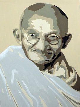 Ghandi von Jan Wiersma
