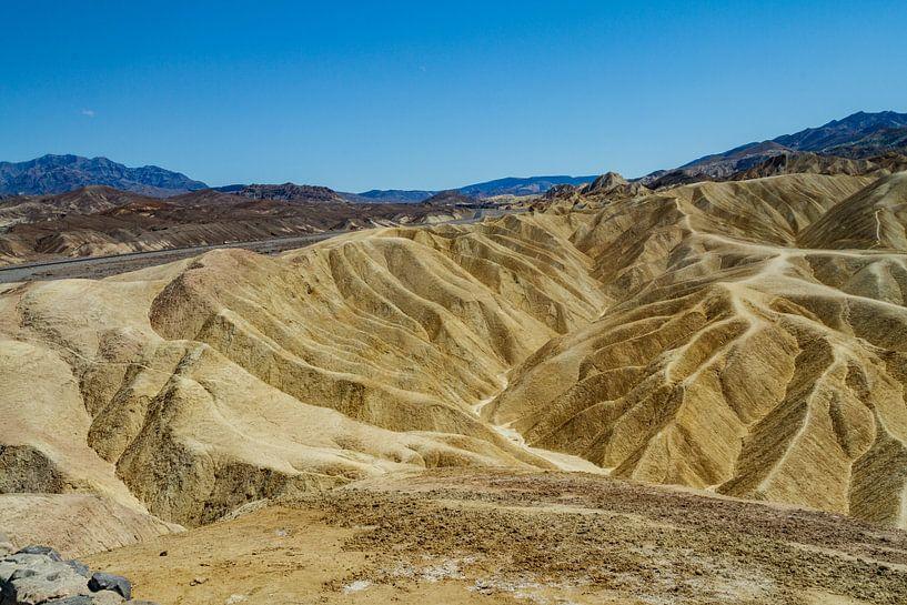 Zabriskie Point in Death Valley National Park van Easycopters