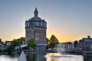 De oude watertoren van