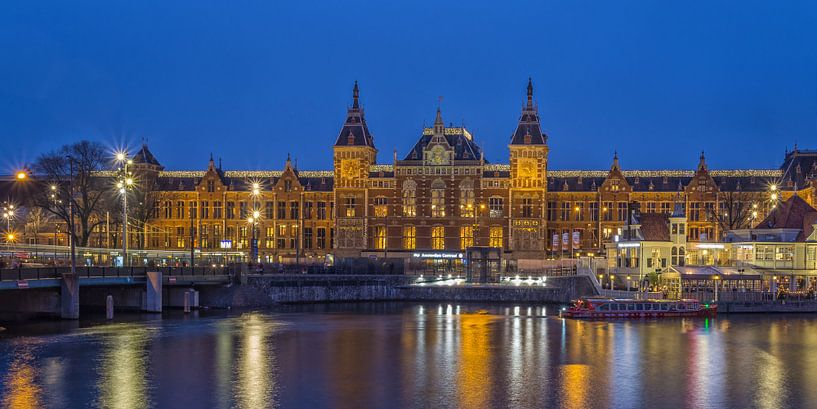Amsterdam by Night - Amsterdam Central Station - 1 sur Tux Photography