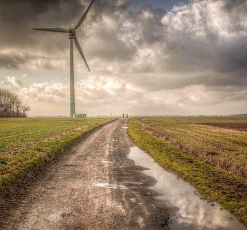 Herfstweer in Zuid-Limburg van John Kreukniet