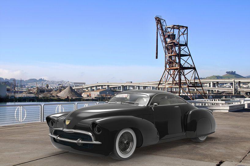 Concept car Black van H.m. Soetens