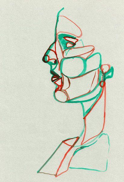 Komplementär   Rot und Grün von Celeste Groenewald