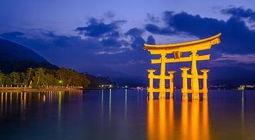 Itsukushima Shrine von Peter Postmus