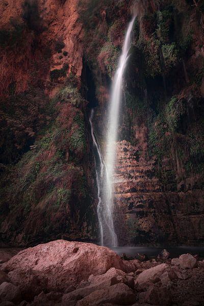 Waterval in Ein Gedi