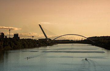 """""""Puente del Alamillo"""" in Sevilla van Kaj Hendriks"""