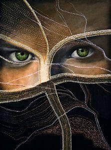 Smaragd-Augen van