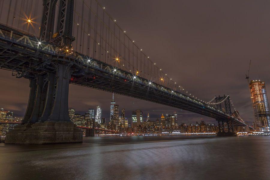 Manhattan Bridge van Rene Ladenius