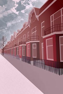 Mauritsstraat, Utrecht sur Jadzia Klimkiewicz