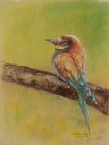 Vogel 3 van Ineke de Rijk