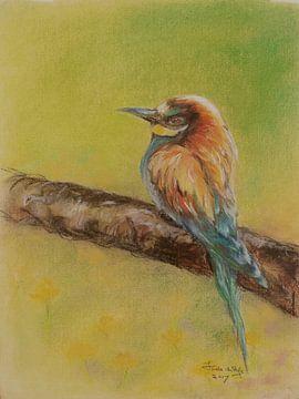 Vogel 3 von Ineke de Rijk