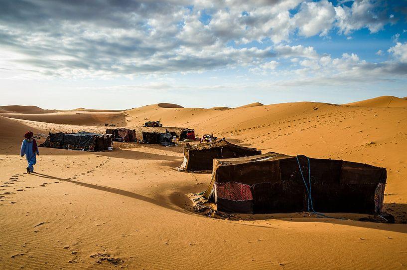 Nomadenkamp van Peter Vruggink