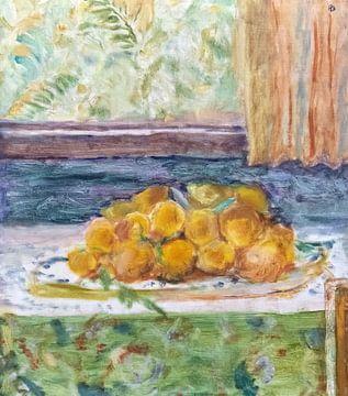 Stilleben mit Zitronen - Pierre Bonnard - 1917 von De Mooiste Kunst