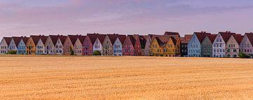 Panorama von Jakriborg, Hjärup, Schweden von Henk Meijer Photography