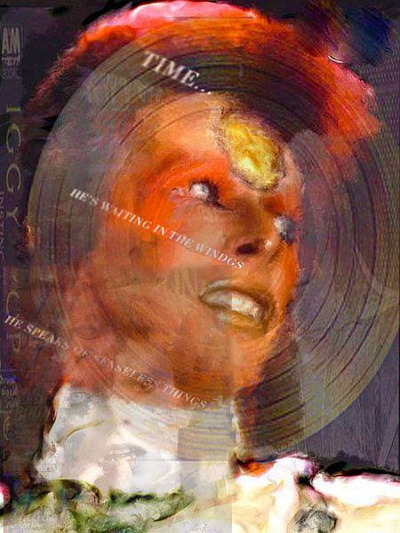 David Bowie pop art van Leah Devora