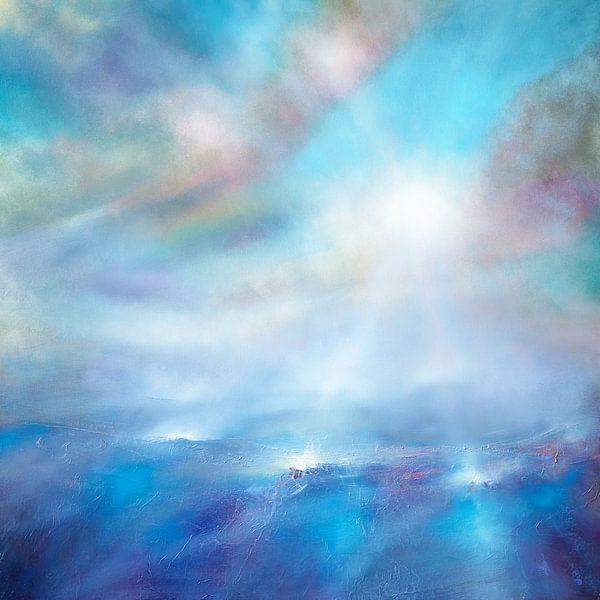 Hemelsblauw van Annette Schmucker