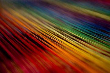 Kleuren weven van Ton van Buuren