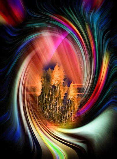 Sonnenaufgang 3 von Walter Zettl