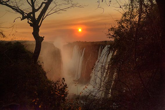 Victoria Falls Sunset van BL Photography