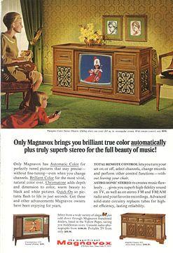 Magnavox tv reclame van Jaap Ros