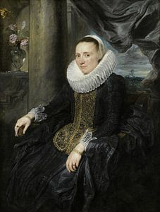 Margareta de Vos, Antoon van Dyck