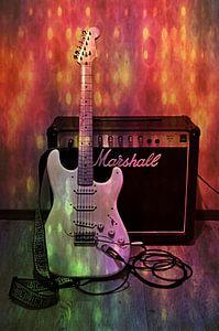 Gitarre und Verstärker