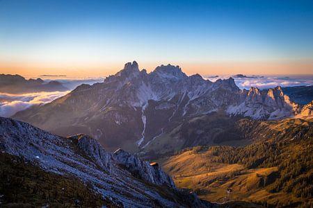 """Berglandschaft """"Das Letzte Licht"""""""