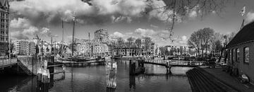 De Oudehaven Rotterdam  z/w