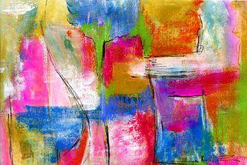 Farben und Fläche 1 von Claudia Gründler