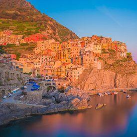 Manarola by Night - Cinque Terre, Italië - 1 van Tux Photography