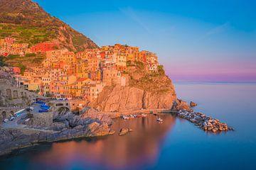 Manarola by Night - Cinque Terre, Italy - 1 sur Tux Photography