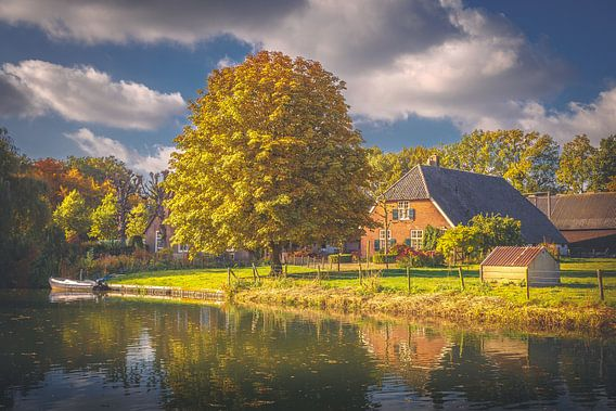 Farm along the Kromme Rijn, Bunnik van Alessia Peviani