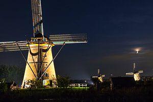 Kinderdijk @ night