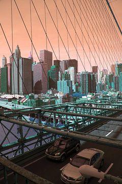 New York sur Mooi-foto van Well
