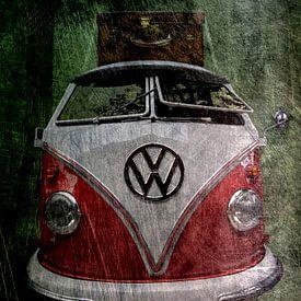 VW Bulli van Harald Fischer