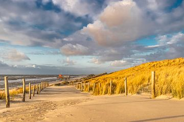 Petten am Meer Strandeingang von Jaap Spaans