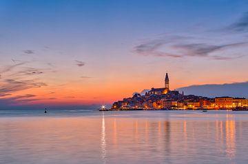 Rovinj - Istrie Kroatie van Kevin Baarda