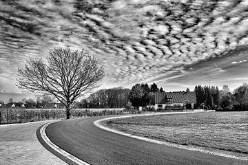 Faszination der Wolken (S/W) von Marius Ahlers