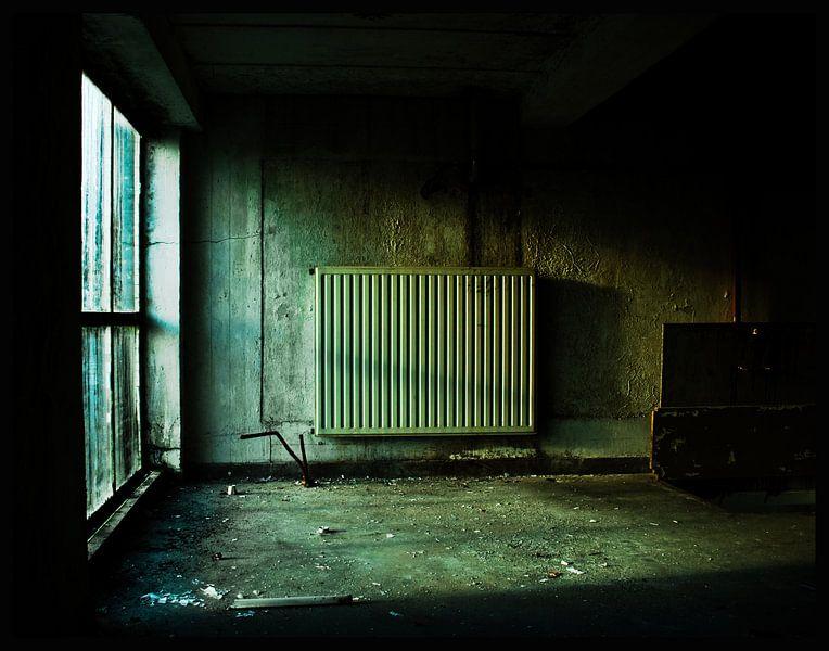 De verlaten fabriek