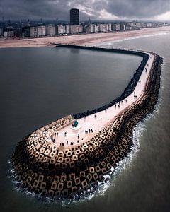 De pier van Oostende